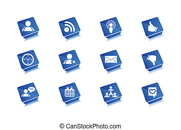 Web Icons Set - Vector web icons set design
