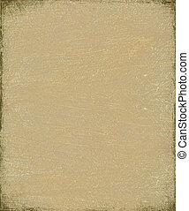 Clay brown fiber grunge background with frame
