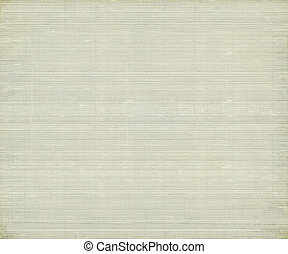 Pale grey bamboo rib paper textured background