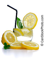 Glass of fresh cool drink