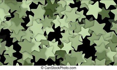 stars shaped flower fancy pattern.