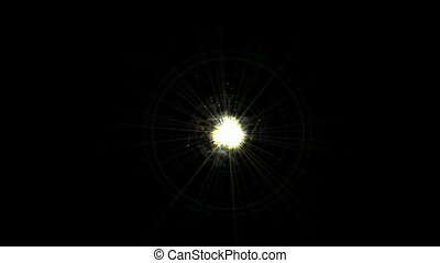 roman numerals and rays light - explosion rays light and...