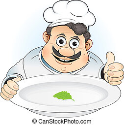 Fat Chef - Chef with new organic diet