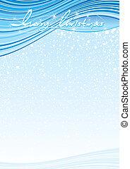Christmas Template - Christmas horizontal vector backgrounds...