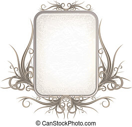 Gothic Sign - Gothic style frame for your design