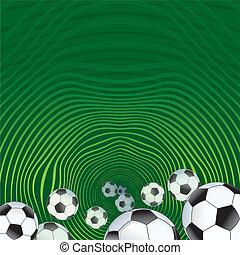 Abstract Soccer background for design