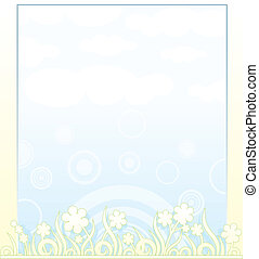 Spring Background - Spring Pale vector Background