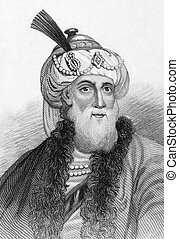 Titus Flavius Josephus (37-100) on engraving from 1800s....