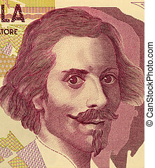 Gian Lorenzo Bernini (1598-1680) on 50000 Lire 1992 Banknote...