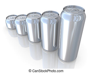 Aluminum beer can