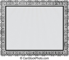 Vector Ornate Vintage Frame. Easy to edit. Perfect for...