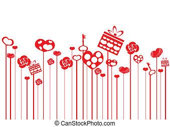red-valentine-hearts