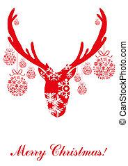 decorative-reindeer