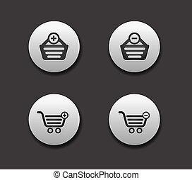 set of Shopping web icons.