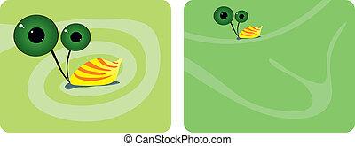 Comic Snail