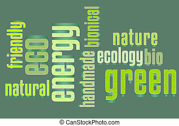 Eco Word Cloud Remake