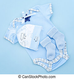 Blue baby clothes for infant boy - Blue infant boy clothing...