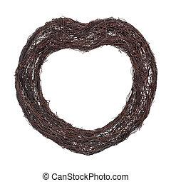 Heart Shaped Wreath Frame