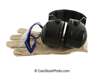 Working safety set - Working protection set including pair...