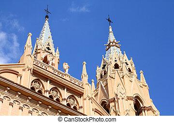 Malaga, Spain - Malaga in Andalusia region of Spain. Sacred...