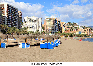 Malaga, Spain - Malaga in Andalusia region of Spain...