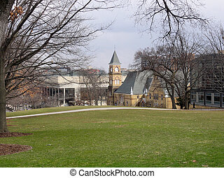 University of Wisconsin - Beautiful campus of the University...
