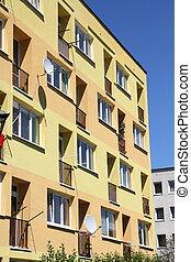 Apartment building - Poland - generic contemporary apartment...