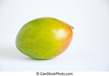 Mango. - Colorful mango isolated on a white background.