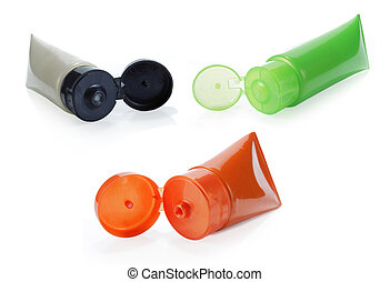 bottles of plastic product