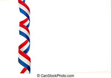 ribbon - cockade with french flag color
