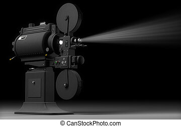Industrial Movie Projector - Professional, industrial movie...