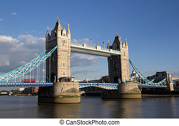 Tower Bridge - Famous Tower Bridge, London, UK