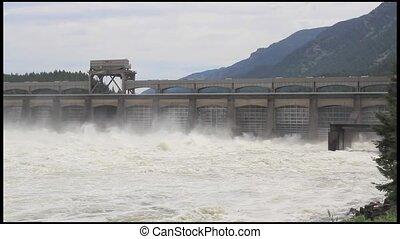 Bonneville Dam in Portland Oregon - Bonneville Dam in...
