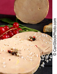 foie gras - slice of foie gras