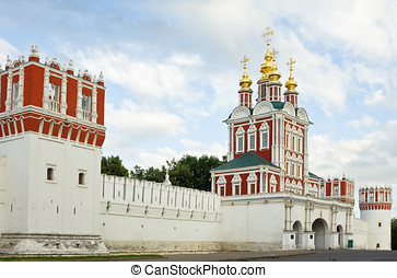 Novodevichy Convent - Gate Church of the Transfiguration of...