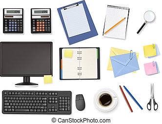 Computer and office supplies.