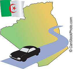 roads of Algeria