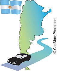 roads of Argentina