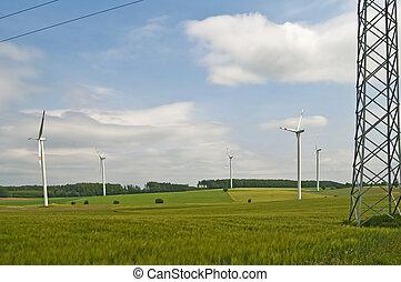 Windr?der - Windkraftanlagen
