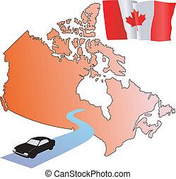 roads of Canada