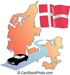 roads of Denmark