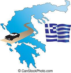 roads of Greece