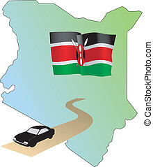 roads of Kenya