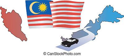 roads of Malaysia