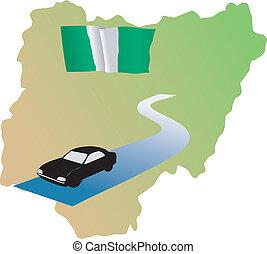 roads of Nigeria