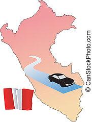 roads of Peru