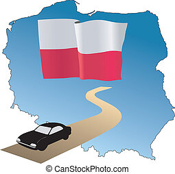 roads of Poland