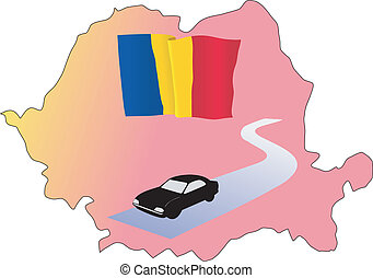 roads of Romania