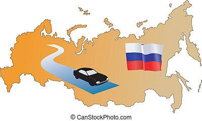 roads of Russia