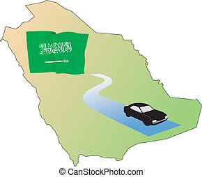 roads of Saudi Arabia